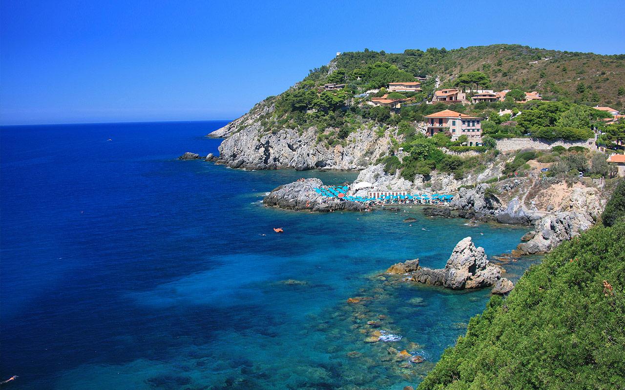 Procchio Elba Karte.1 3 Elba Island Giglio Island Talamone 1 Week